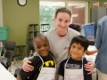 Shalom Park Freedom School Chefs with Teen Board Member Annie Brown