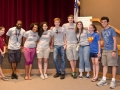 Teen Board members with College Interns