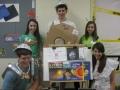 Teen Board members getting into the spirit of SPFS