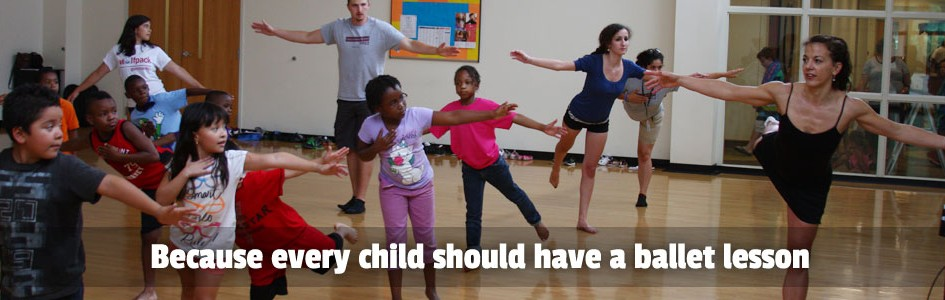 Because every child should have a ballet lesson